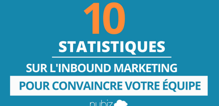 statistiques sur l'inbound marketing