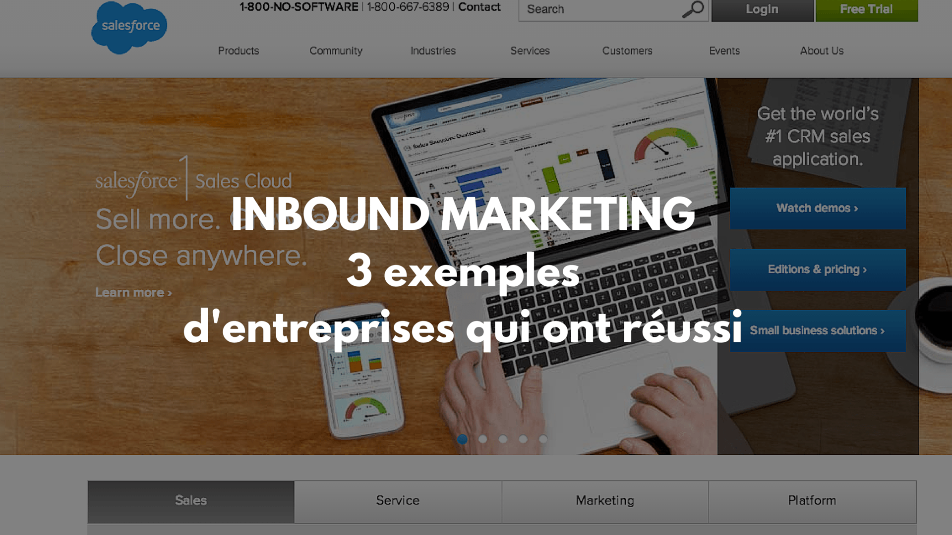 entreprises qui utilisent l'Inbound Marketing